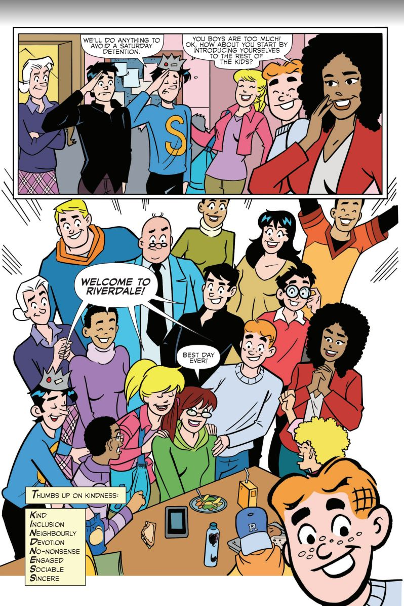 Kindness Works - Archie Comics