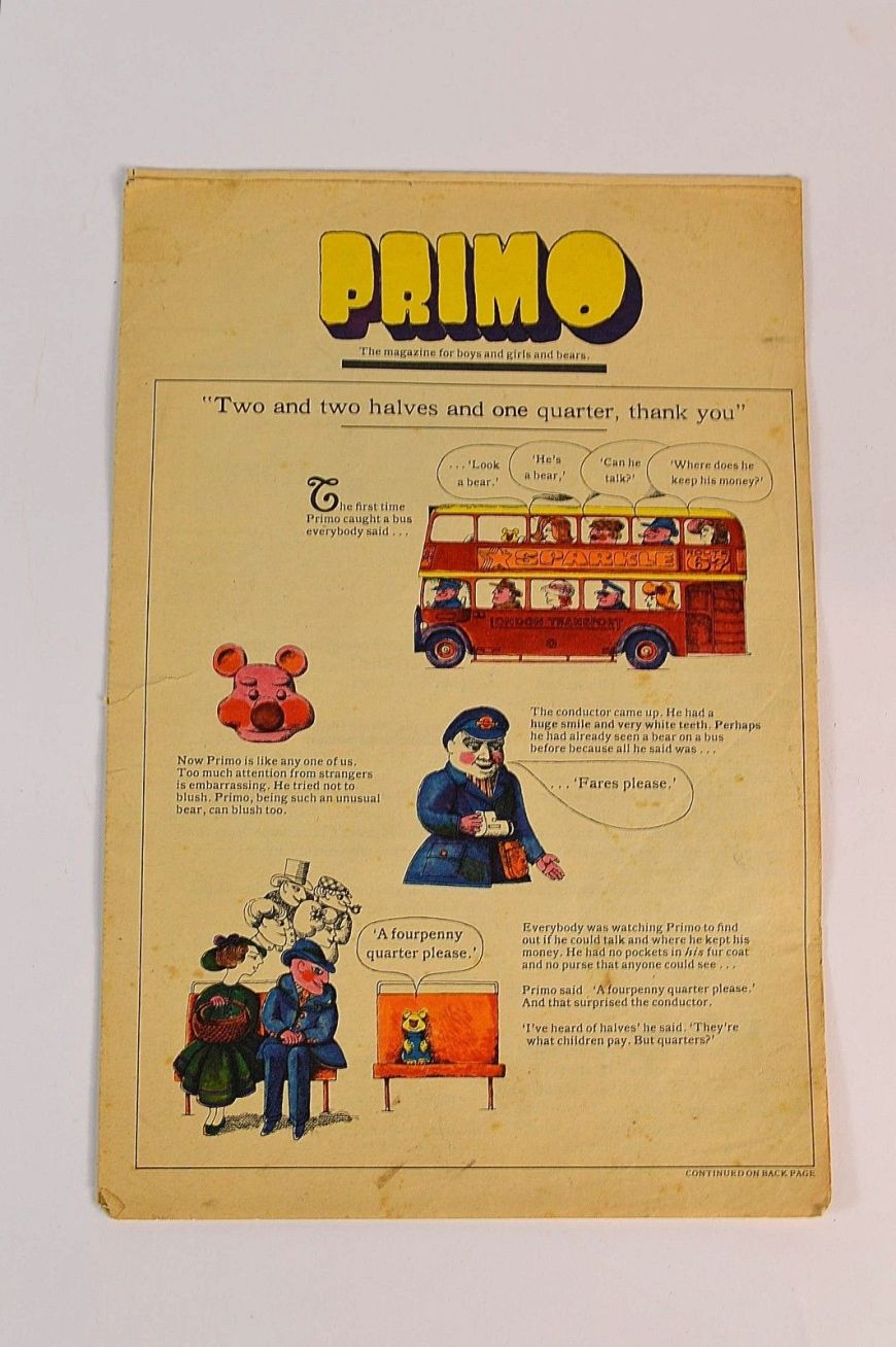 A 1964 edition of J Lyons Primo Club Magazine