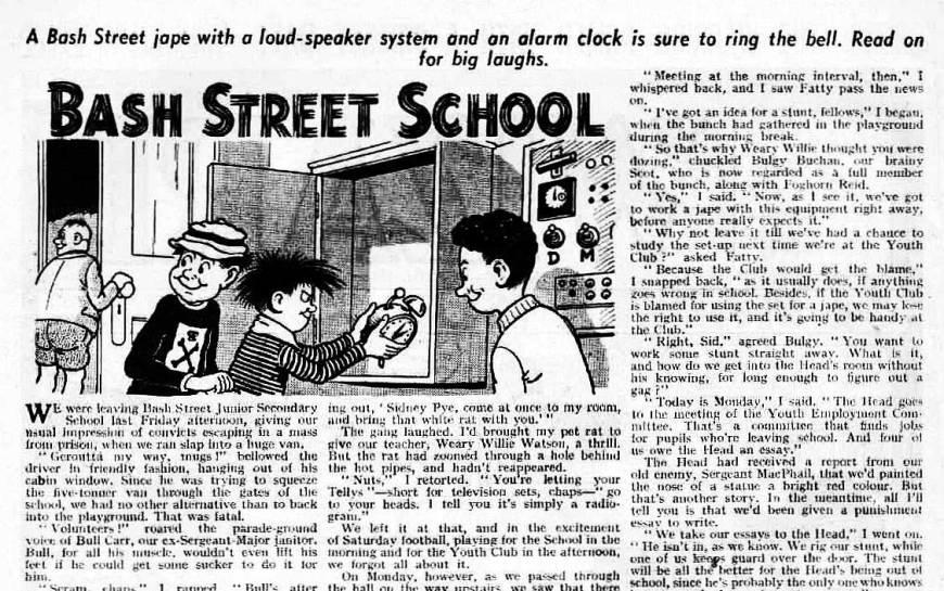 Wizard 1546 Bash Street School
