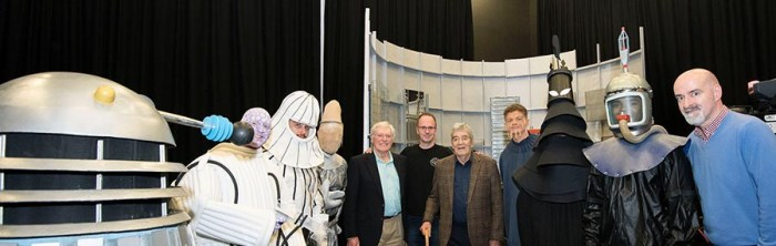 """Staff and students at the University of Lancashire have recreated the Doctor Who episode """"Mission to the Unknown"""" as a special project. Photo courtesy UCLan"""