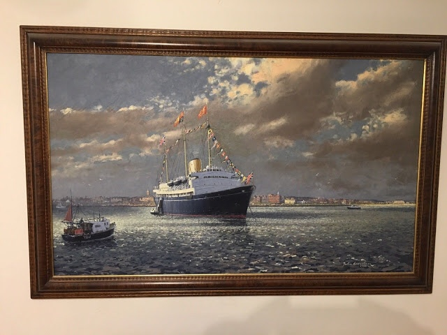 Royal Yacht Britannia by John Worsley