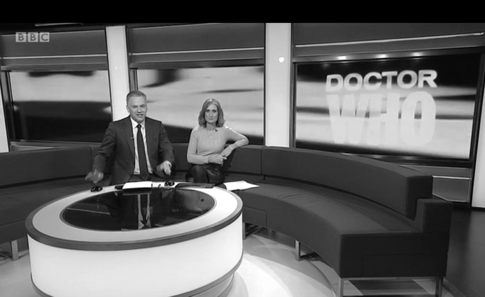 BBC North West Tonight gets into the spirit of proceedings at UCLan