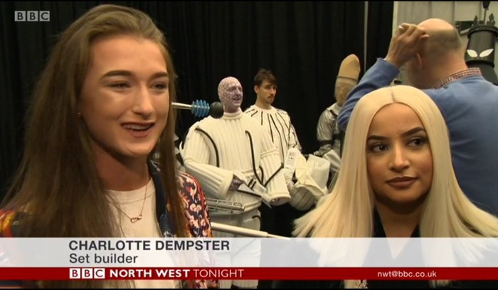 UCLan recreate Doctor Who - Mission to the Unknown Charlotte Dempster