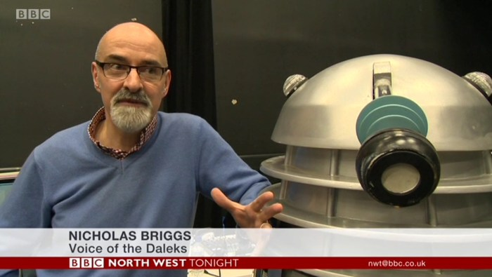 UCLan recreate Doctor Who - Mission to the Unknown Nicholas Briggs