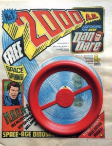 2000AD Prog 1 Cover with Gift