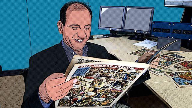 Comics Britannia - image © BBC