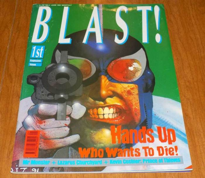 Blast Issue One
