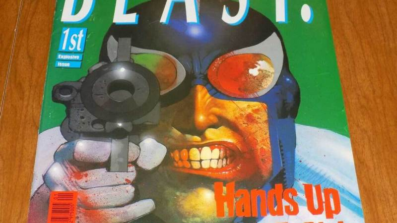Blast! An Early 1990s British News Stand Comics Casualty