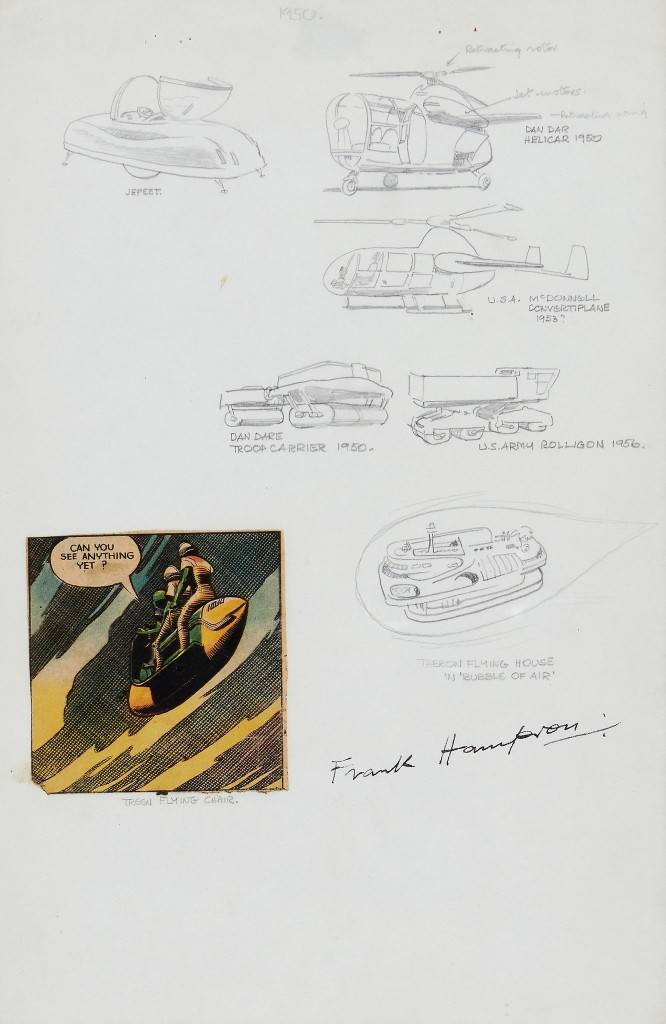 "Frank Hampson ""Dan Dare"" Designs"