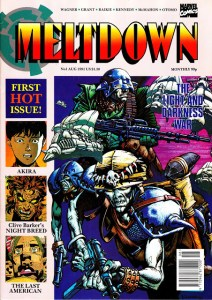 Marvel UK's monthly title Meltdown, launched in 1991