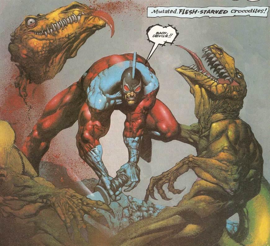 Mr Monster from Blast! by Simon Bisley