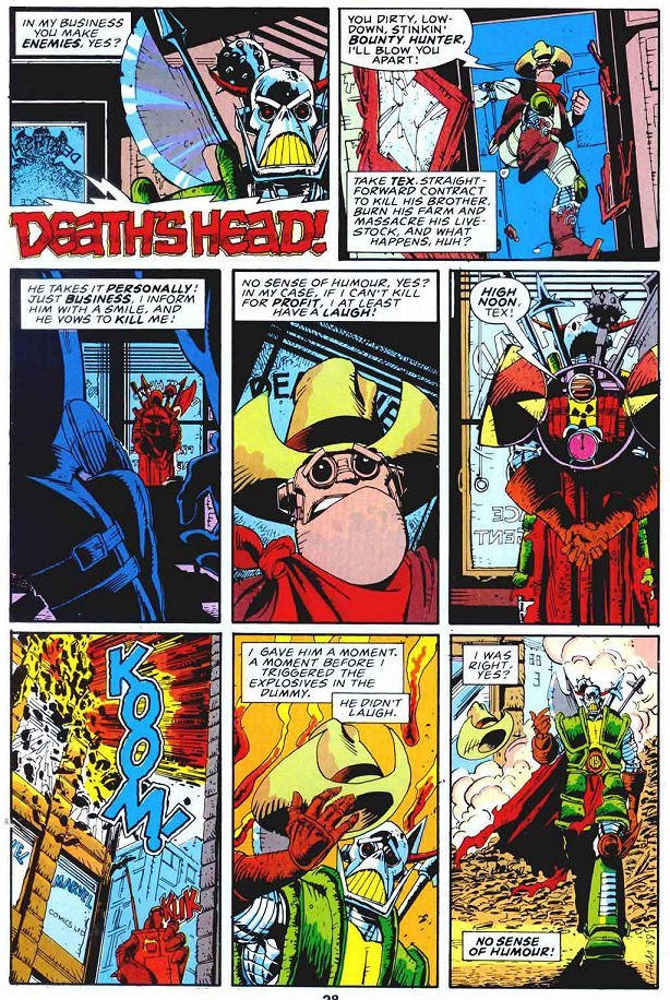 Death's Head's first appearance in