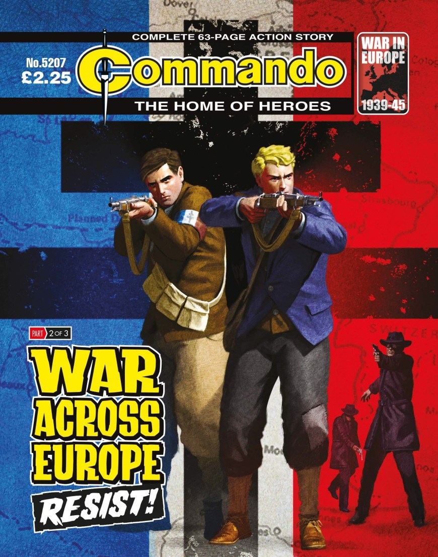 Commando 5207: War Across Europe: RESIST!