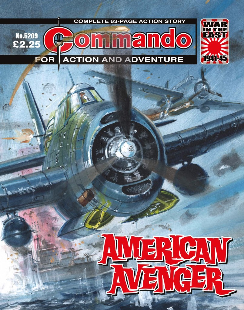 Commando 5209: Action and Adventure: American Avenger