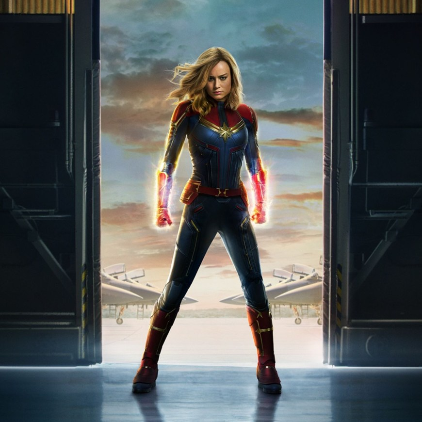 Captain Marvel Promotional Image