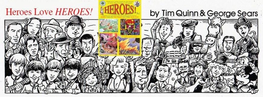 Heroes! Magazine Promotion