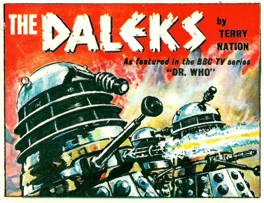 """The Daleks"" TV Century 21 Masthead"