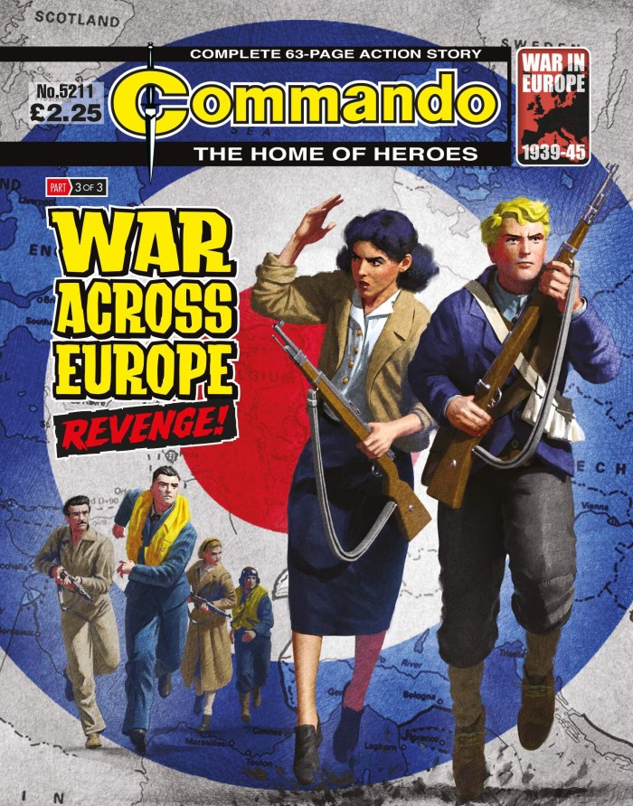 Commando 5211: Home of Heroes: WAR ACROSS EUROPE: Revenge!