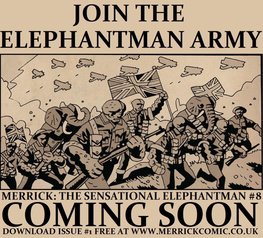 Merrick: The Sensational Elephantman Promotional Image