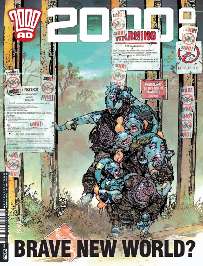 2000AD 2125 - Cover