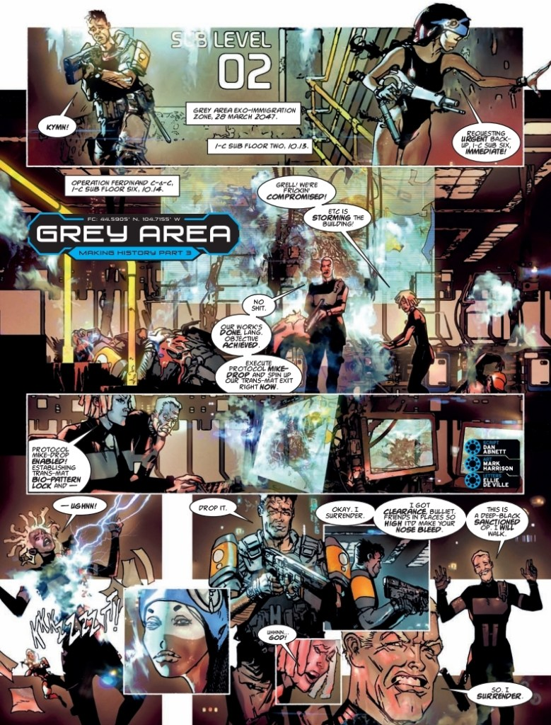 2000AD 2125 - Grey Area