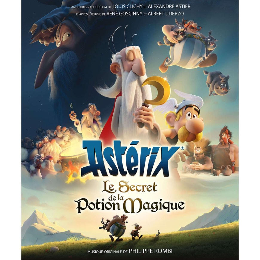"""A French poster for """"Asterix and the Magic Potion"""", released in 2018"""