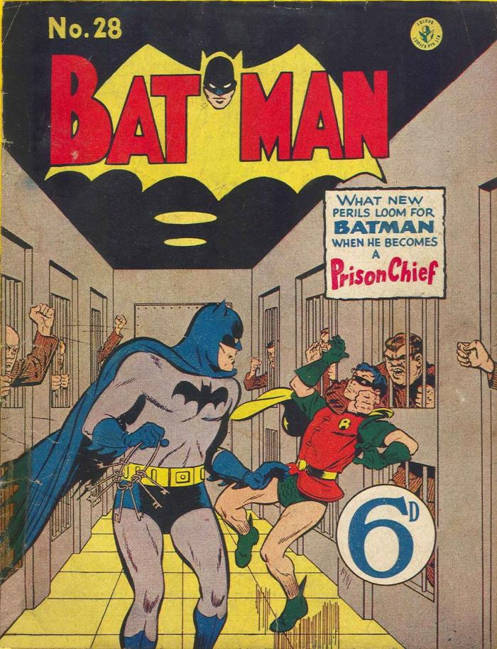 A Batman reprint published by Atlas Publishing, distributed in the UK