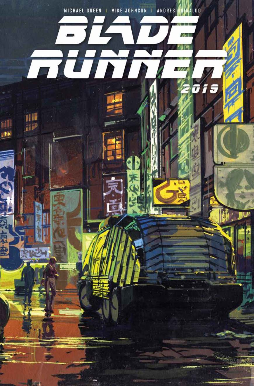 Blade Runner 2019 #1 Cover B - Syd Mead (Not Final)