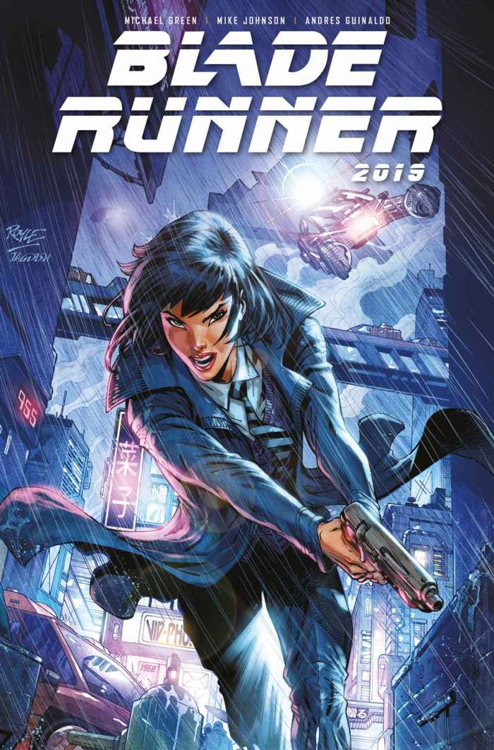 Blade Runner 2019 #1 Cover D - John Royle (Not Final)