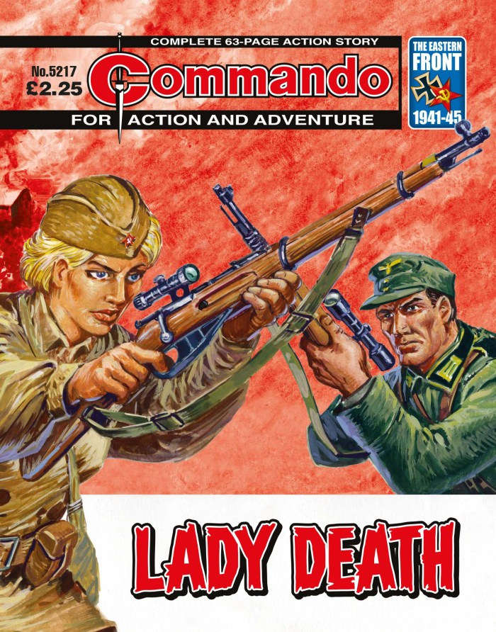 Commando 5217: Action and Adventure: Lady Death