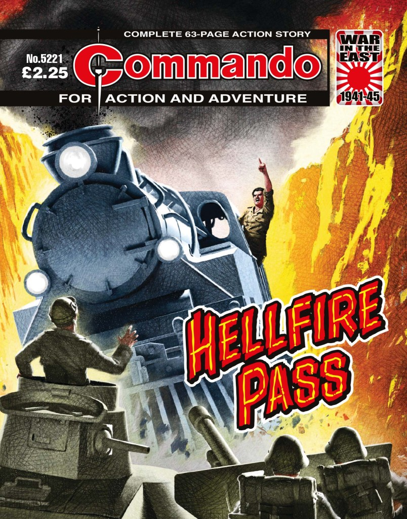 Commando 5221: Action and Adventure - Hellfire Pass