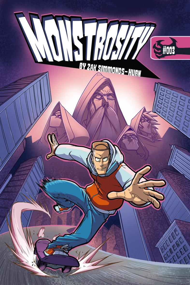 Monstrosity Issue 3 - Cover