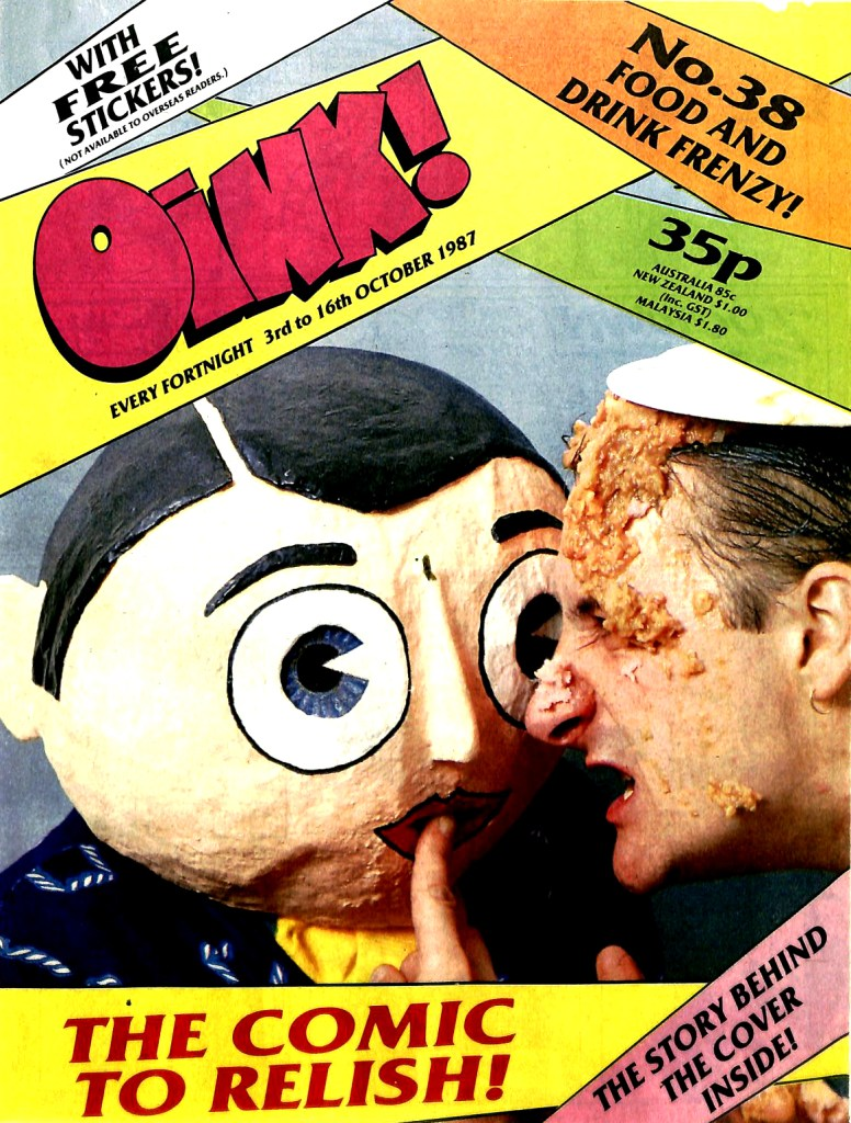 Oink Issue 38 - Cover