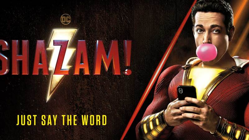 Shazam! zaps into the Official Film Chart top spot as the DC Extended Universe dominates the top 10