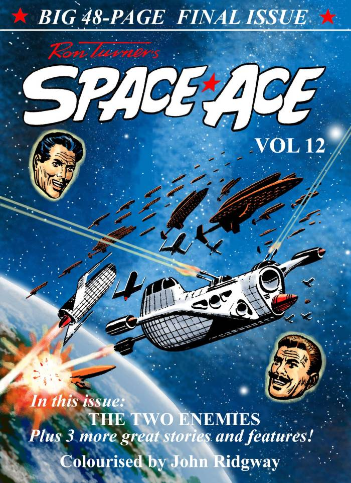 Space Ace Issue 12 - Cover
