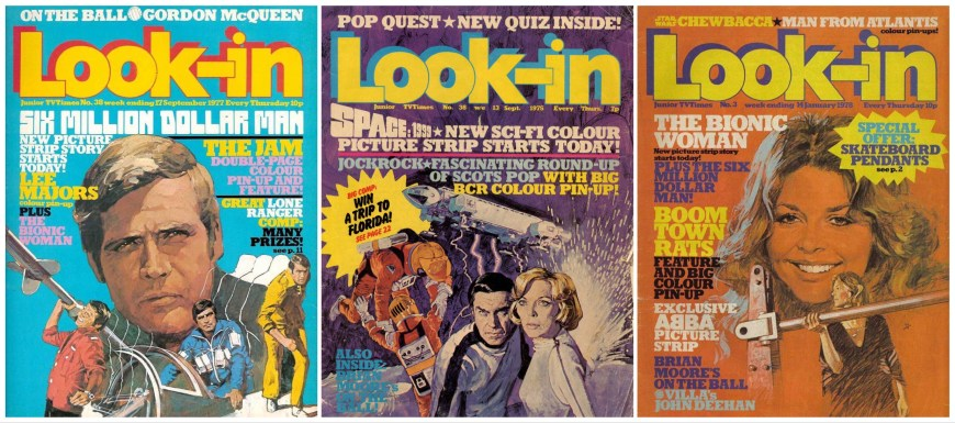 Look-In Covers Montage