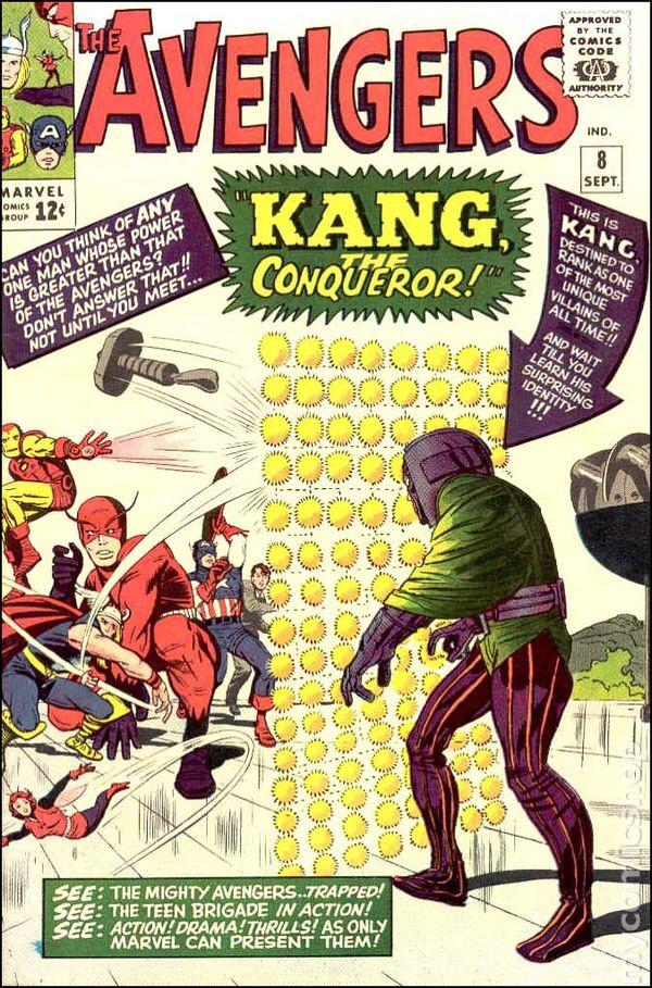 Avengers #8 1964 Cover