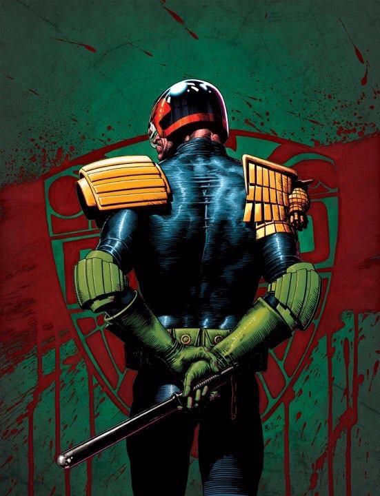 Judge Dredd by Tom Foster
