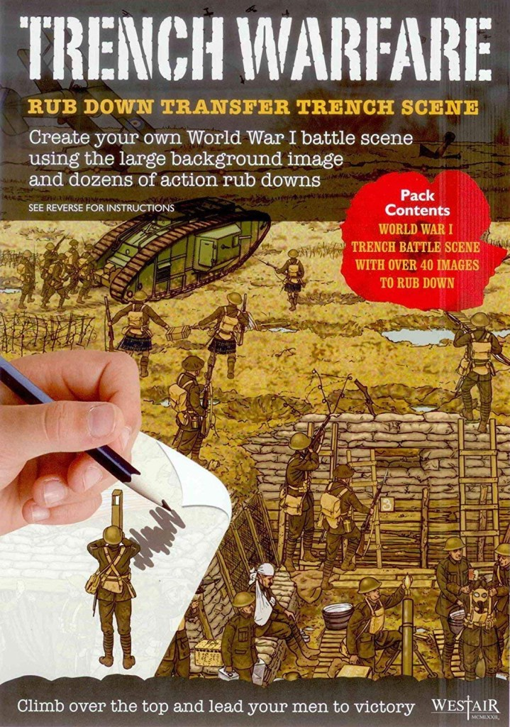 """Westair Reproductions """"Trench Warfare"""" Rub-Down Transfers"""