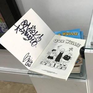Limited Edition Oor Wullie annual signed by Sleek