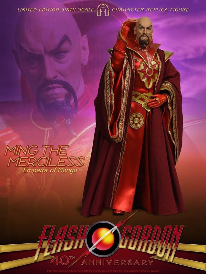 BIG Chief Studios Flash Gordon Figure - Ming the Merciless