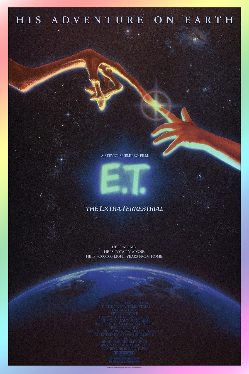 E.T. Vice Press Poster - Foil Variant Edition
