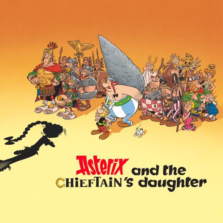 """A promotional image for """"Asterix and the Chieftain's Daughter"""". Image: Albert René editions"""