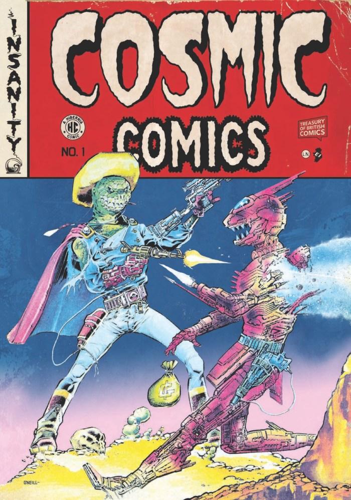 Cosmic Comics Cover