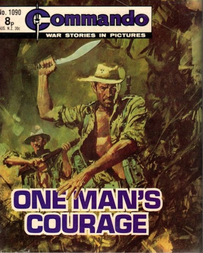 Commando 1090 - One Man's Courage Cover by Jordi Longaron
