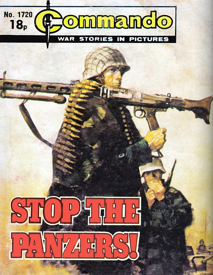 Commando 1720 - Stop the Panzers Cover by Jordi Longaron