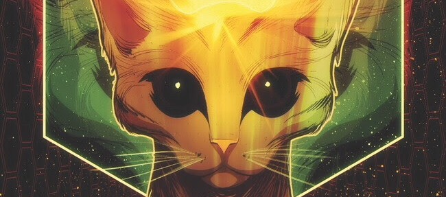 Dark Horse announcers a darn astral cat as latest hero