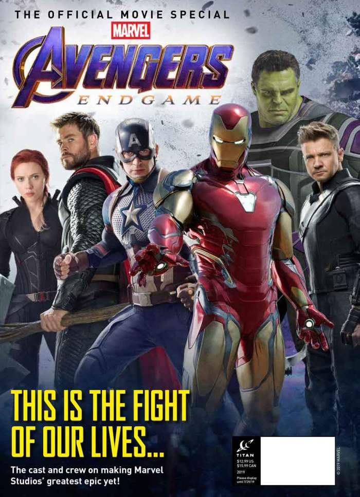 Marvel Studios' Avengers: Endgame - The Official Movie Special - News Stand