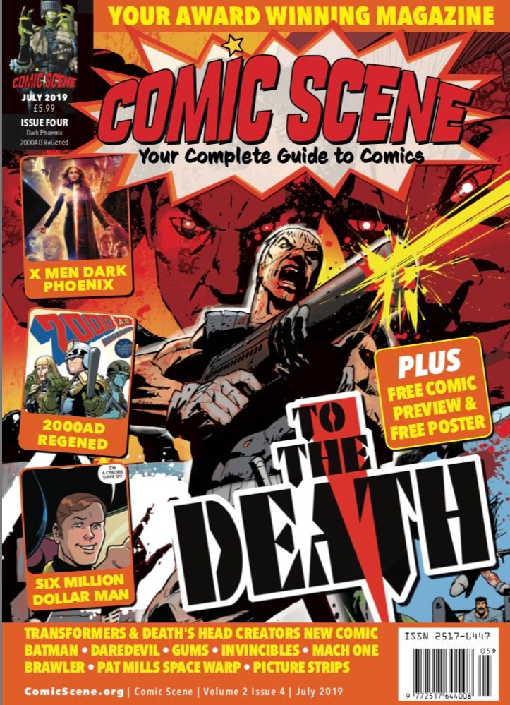 ComicScene Issue 4 - Cover