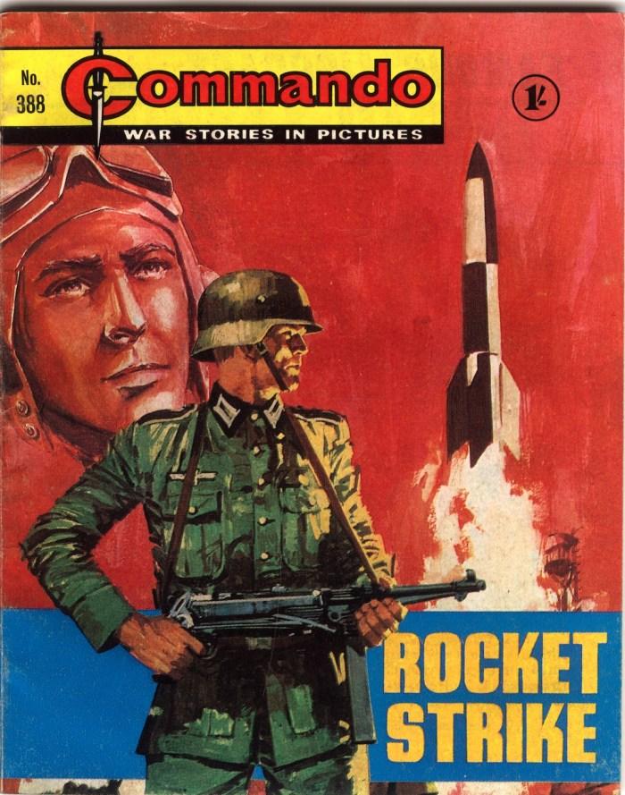 Commando 388 - Rocket Strike Cover by Jordi Longaron
